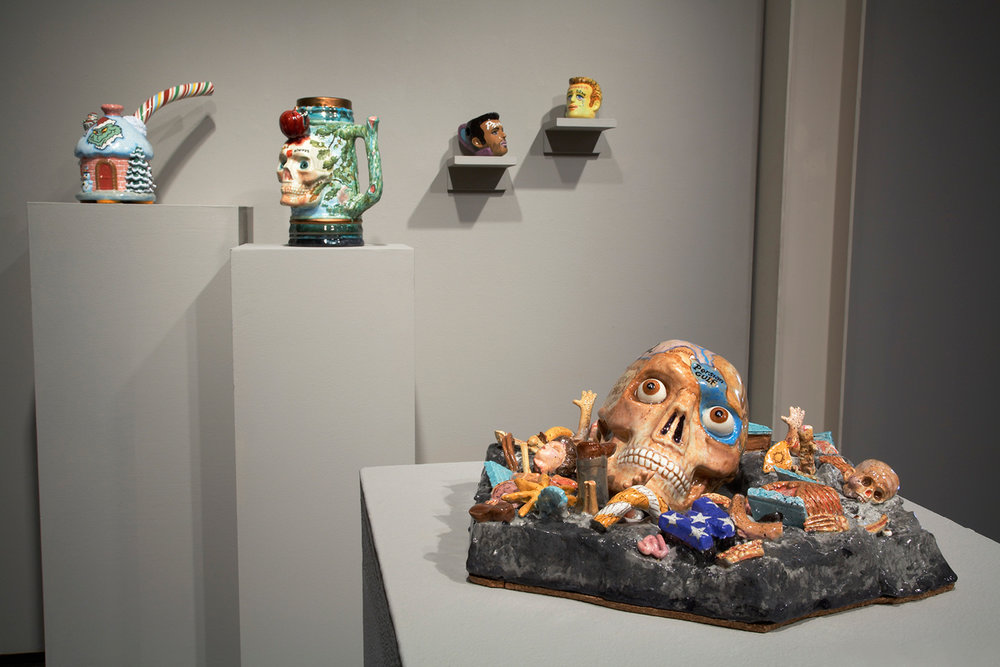 Contemporary Monsters | Curatorial Project John DeFazio  Northern Clay Center