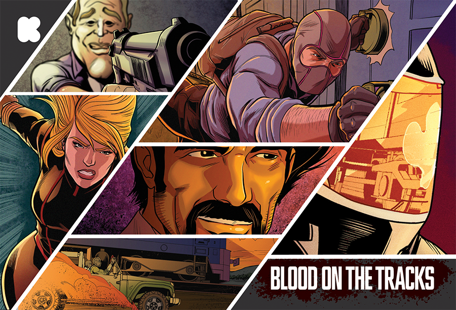 BLOOD ON THE TRACKS Kickstarter Campaign