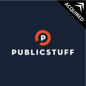 PublicStuff   is online community service that allows individuals to notify the right local departments to get things fixed.    Sold to Accela