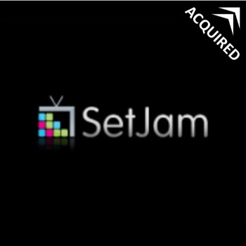 SetJam  offers a personal, interactive and social TV that can be watched online.    Sold to Motorola Mobility