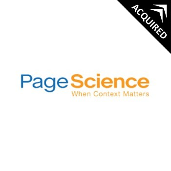 PageScience   scans the web for consumers who are actively researching an exact category to present a marketer's message to a hyper-targeted audience for higher conversions, better brand experiences, and a more efficient media spend.