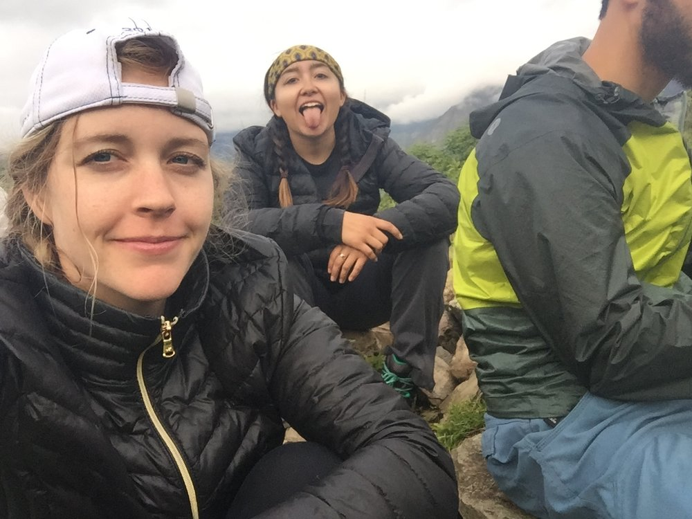 After climbing Llactapata mountain