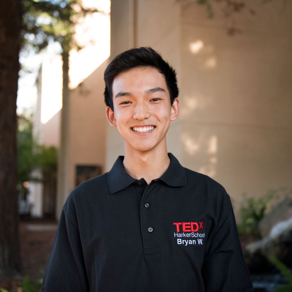 bryan wang - Bryan Wang is a sophomore at The Harker School in San Jose and a member of the PR team. Aside from TEDx, Bryan pursues interests in business, music, and tennis. Thus, he actively competes in DECA, Model UN, and local hackathons. In addition to being VP of Events in Harker's Tri-M Honor Society Club and lead alto in Lab Band, Bryan cofounded and leads his 4-man jazz combo, The Jazz Factor. During the spring, Bryan plays for Harker Varsity Tennis. In his free time, Bryan enjoys volunteering musically and watching movies.