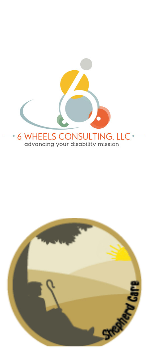 PHOTO: Logos of 6 Wheels Consulting, LLC and Shepherd Care