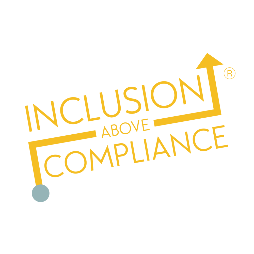 Inclusion Above Compliance logo.