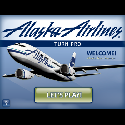 "ALASKA AIRLINES  - Designed and launched in close coordination with the trainers at Alaska Airlines, ""Turn Pro"" replaced hundreds of manual checklists with a simple, visual depiction of how aircraft are ""turned"" at an airline. Used by HR to train new employees, ""Turn Pro"" dramatically reduced the amount of time needed for new hires to get to the field."