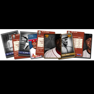 BASEBALL BOSS  - Launched under license from Major Leage Baseball, the game allowed players to collect, trade and play historical baseball players in a collectible card format.
