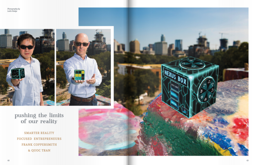 We're in the November 2018 issue of foundingAustin! - Read more about us here.