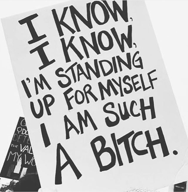 T o t a l l y  b i t c h i n ' 💁🏿♀️💁🏾♀️💁🏽♀️💁🏼♀️new moon ladies ain't afraid to speak their mind! Have you ever thought about the importance of not being 100% polite?? Those conversations you don't want to have at home over the holidays are important ones. Why are they uncomfortable? How do you move past that discomfort and open up conversation that sparks new ideas? Resist the fear, dig in where it's uncomfortable. Talk change, speak the truth, this is how we evolve! // #talkchange #truth #womensempowerment #womanstrong #standup #womenshealth #feminism #speakupforthevoiceless