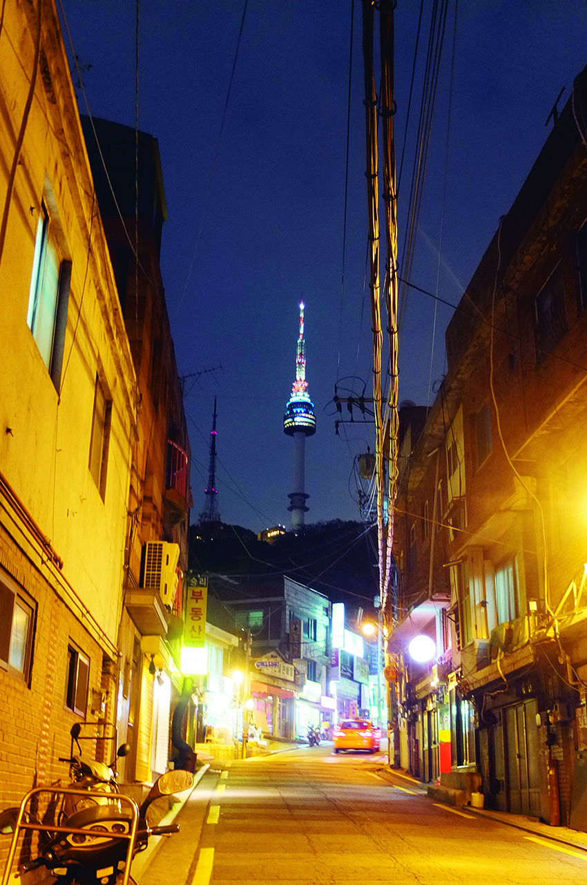 The HBC view of Namsan.