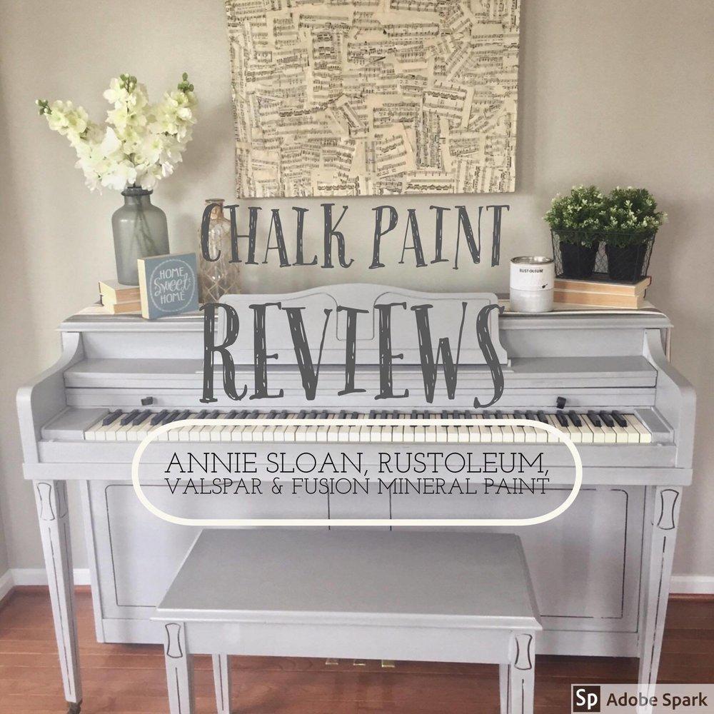 Chalk Paint Reviews Annie Sloan Rustoleum Valspar And Fusion