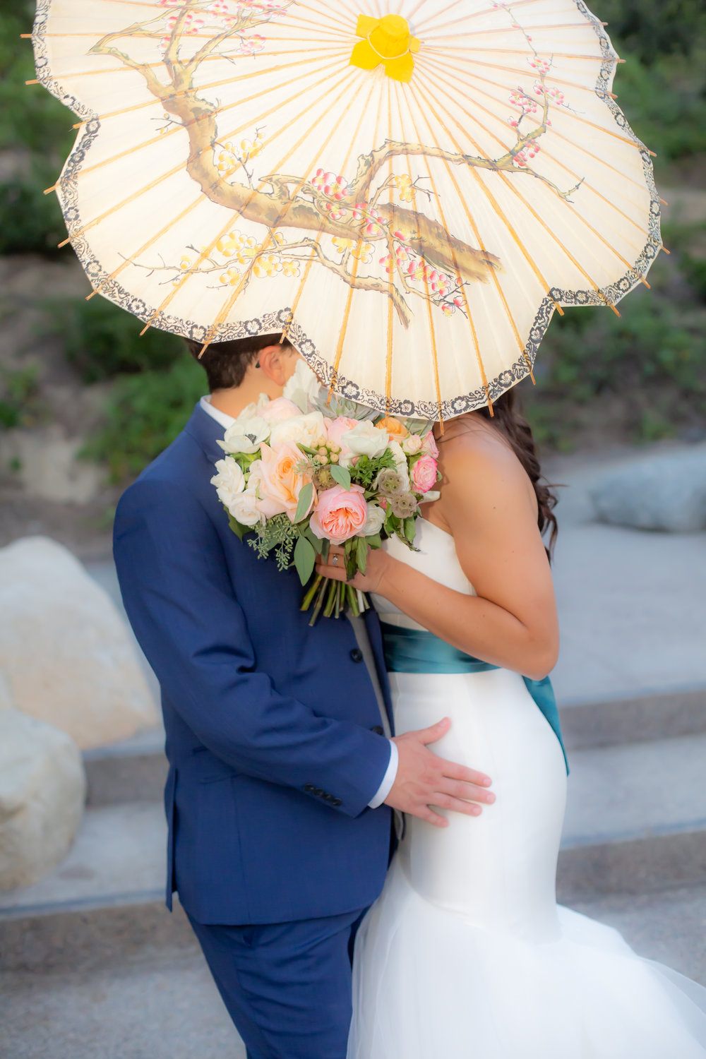 A More perfect union - Dave and Carla picked the most beautiful, serene backdrop of the Japanese Friendship Garden to start their newest adventure together.