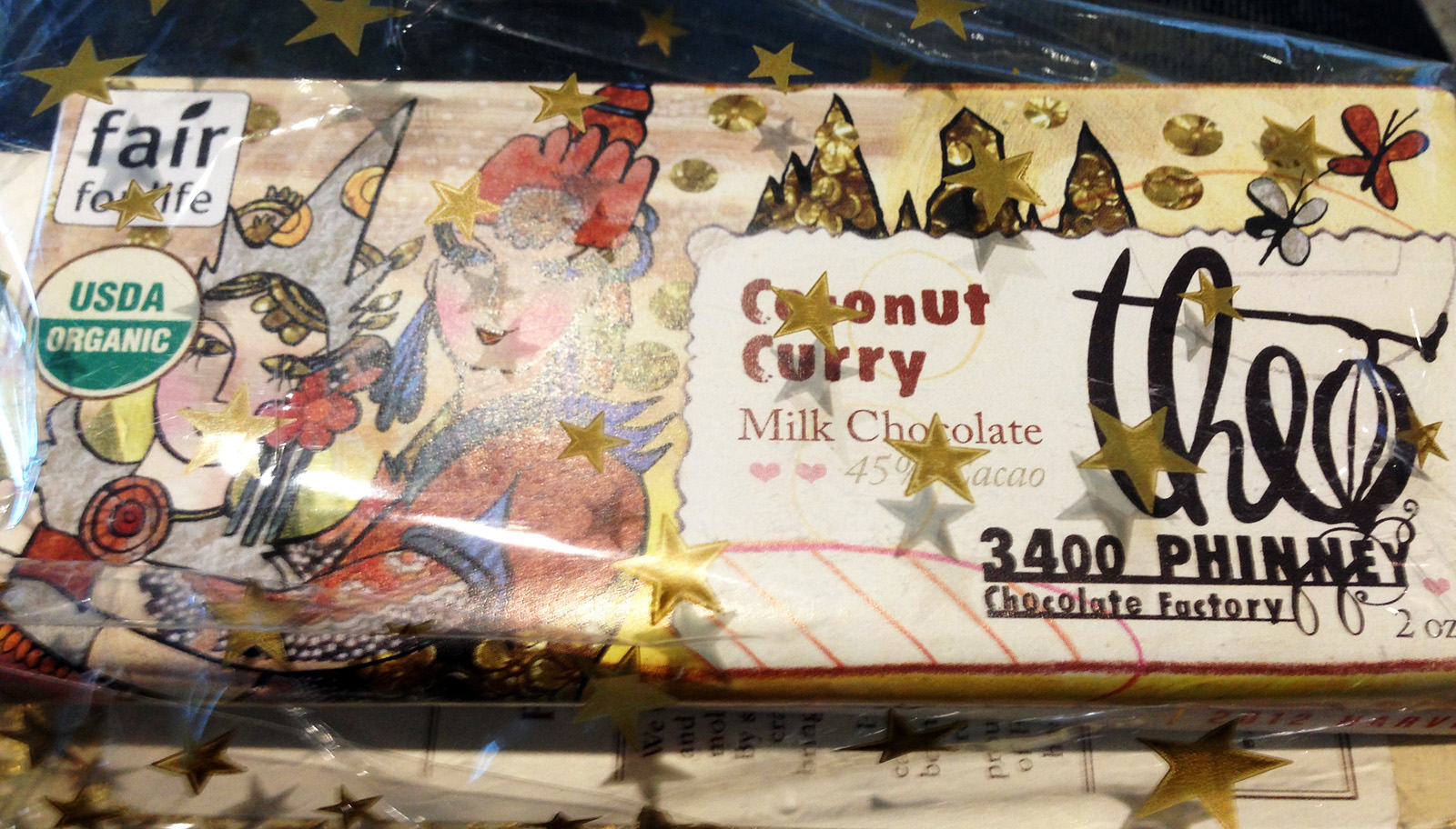 coconut curry chocolate