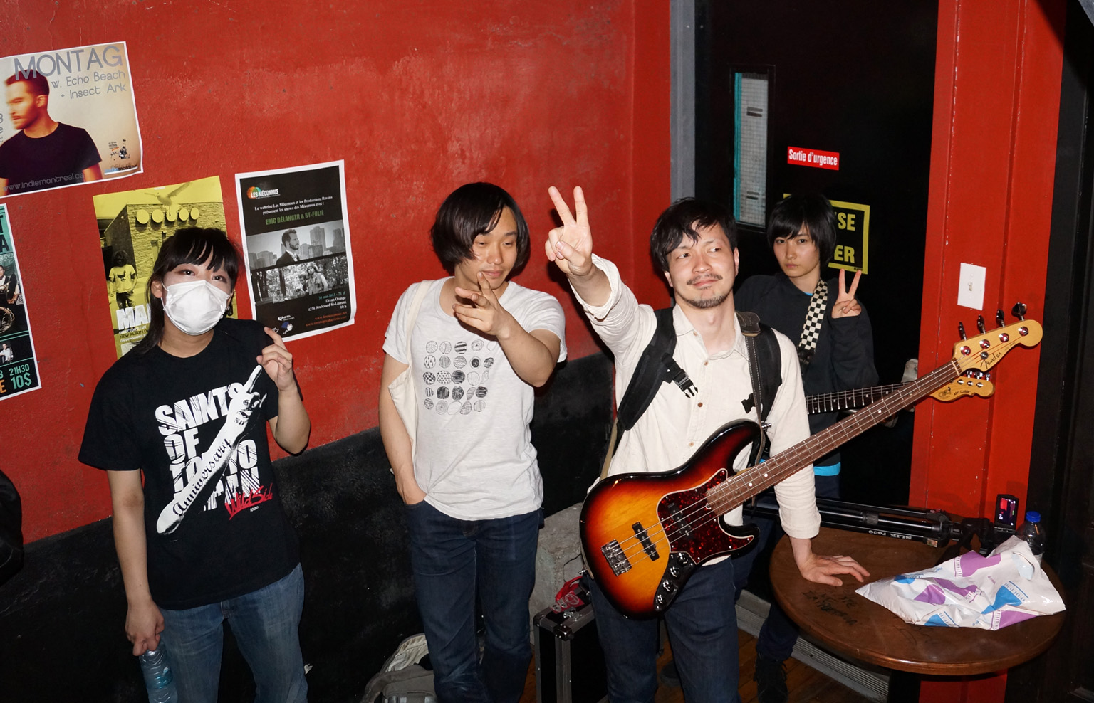 kinoko backstage