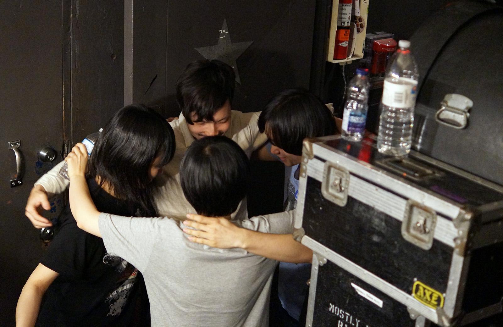 kinoko huddle