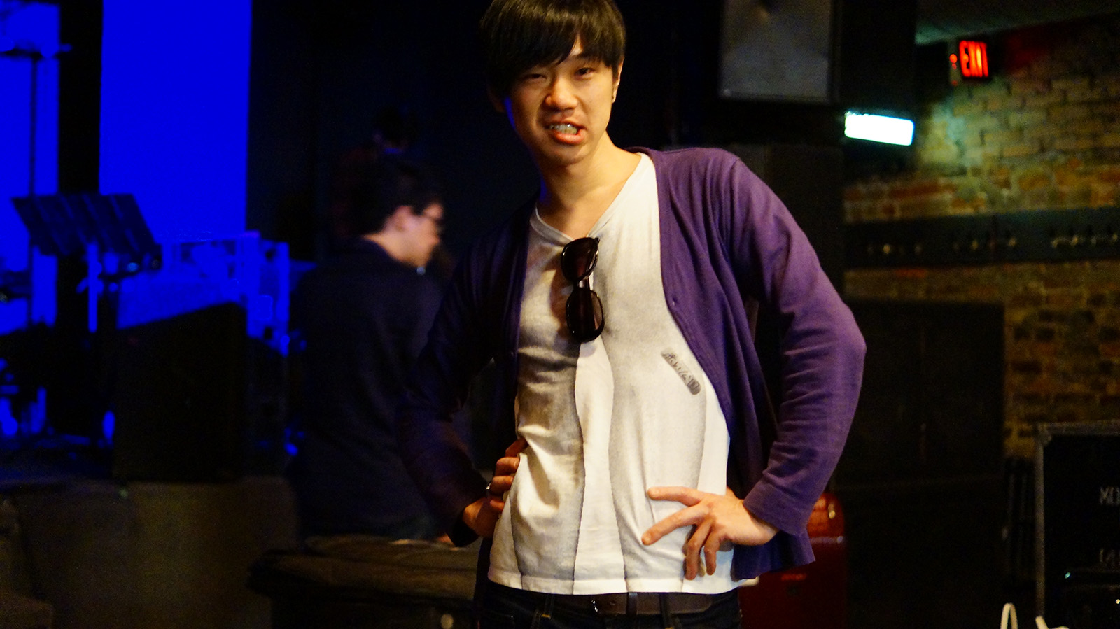 leader pose