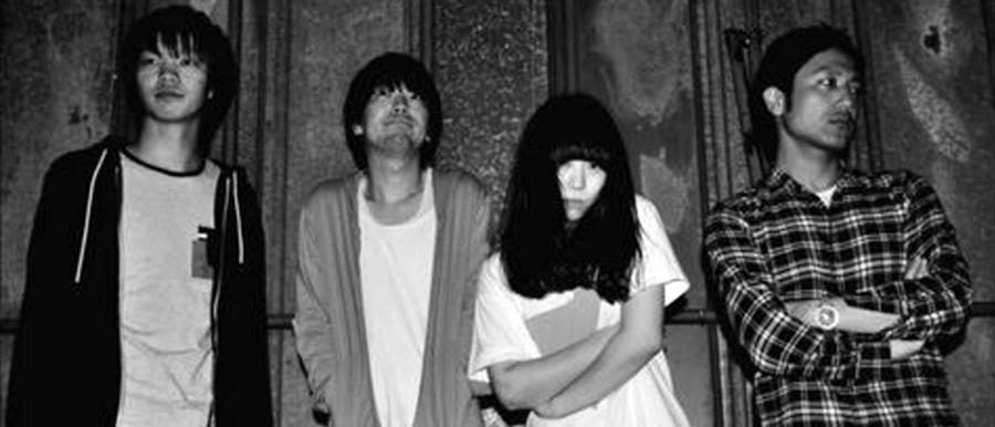 Miyata Wataru (Ba) Hada Masaya (Dr) Kobara Sae (Vo) Hino Tetsuya (Gt)