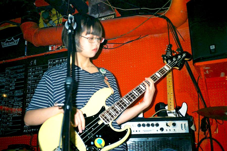 Rie (Bass, Chorus)