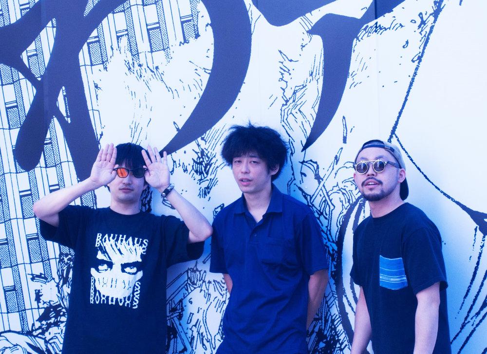 ——————— Nakane Panther (guitar) ———- Great Hashimoto (vocals, drums) ——— Guts (bass) ———————— -