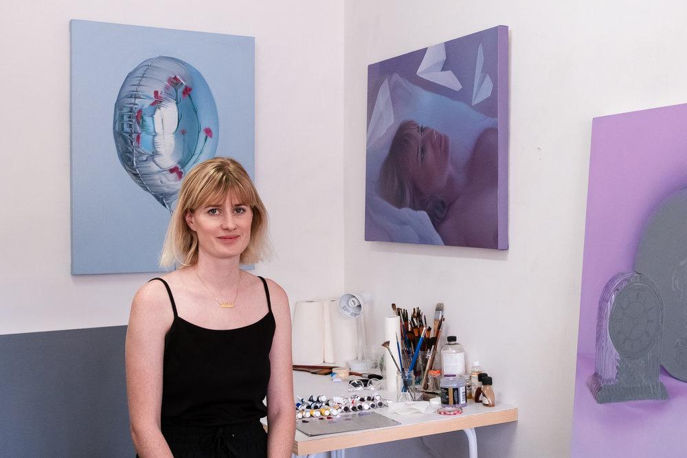 Kellie Orr In Studio