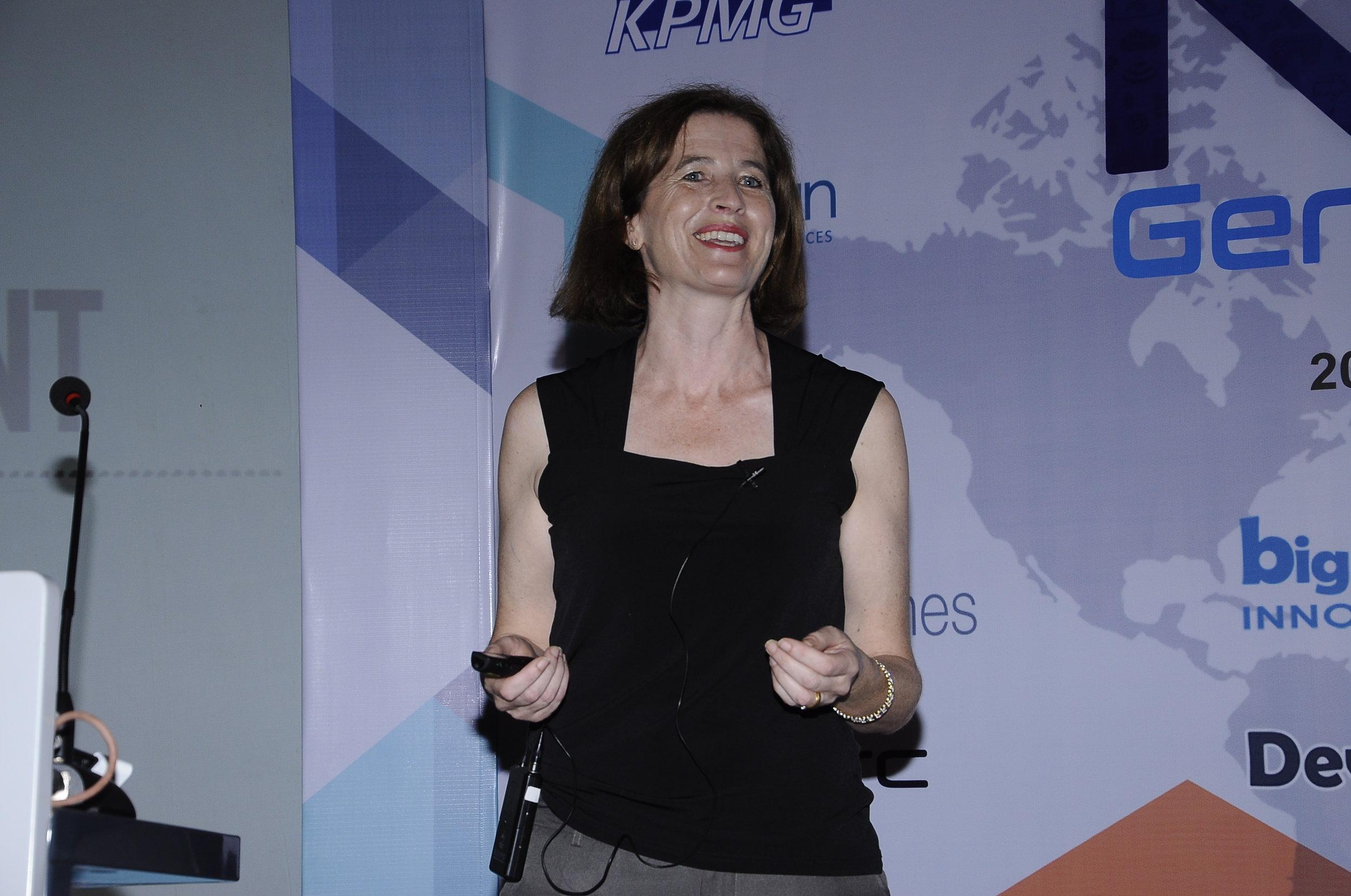 International Speaker - Anne-Marie Charrett