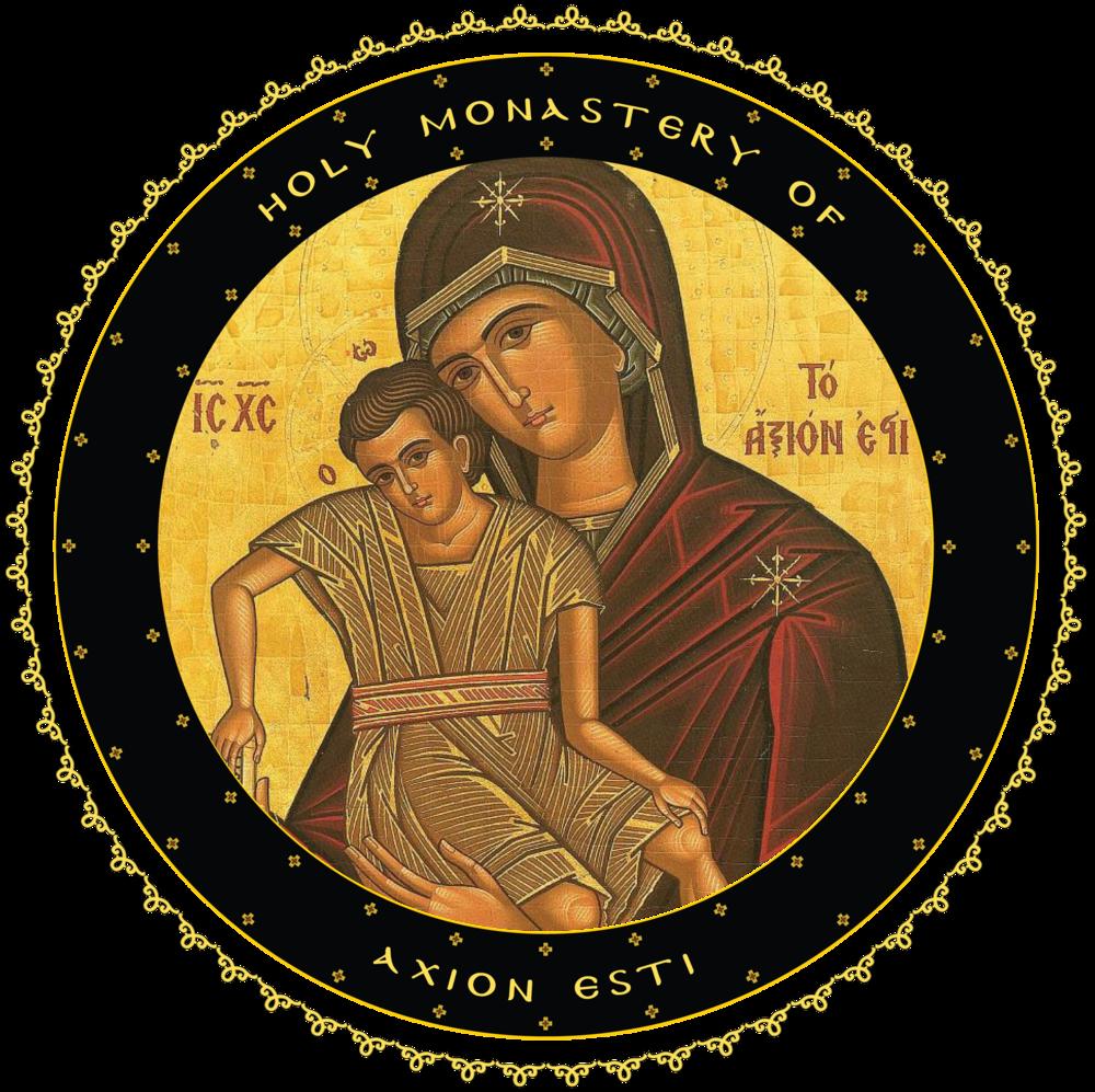 Axion Esti Monastery Logo.png