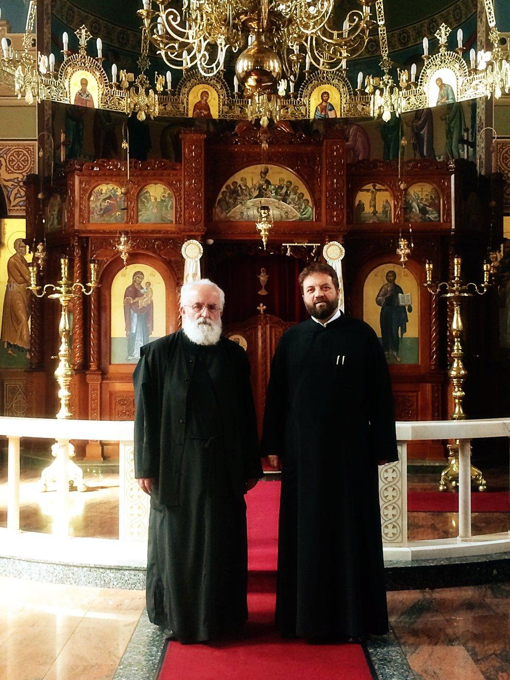 Fr. spyridon bonias AND fr. demetrius catrinei -
