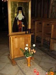 St. Paisios's grave
