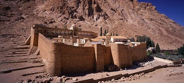 The Monastery of St. Catherine, Sinai