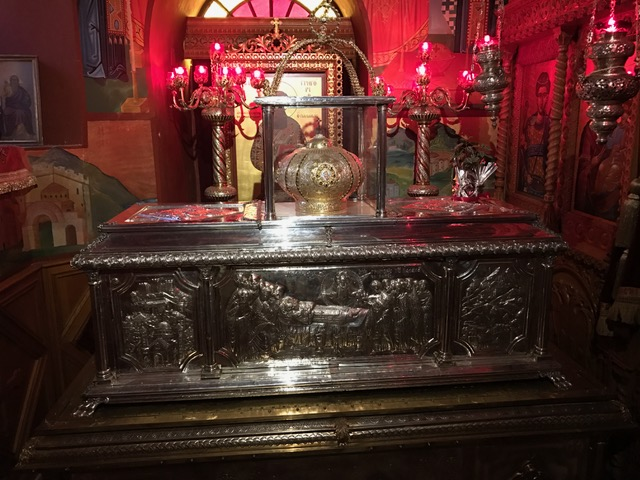 Relics of St. Gregory Palamas (Thessaloniki)
