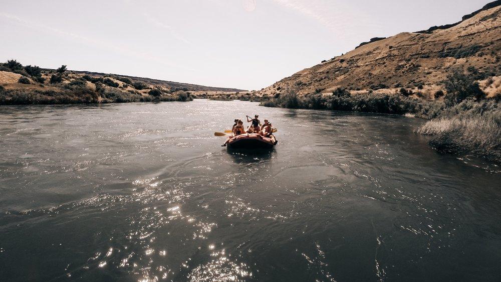 """Rowin' , Rowin' , Rowin' on the (Snake) River!""| Edward Arthur Dalton"
