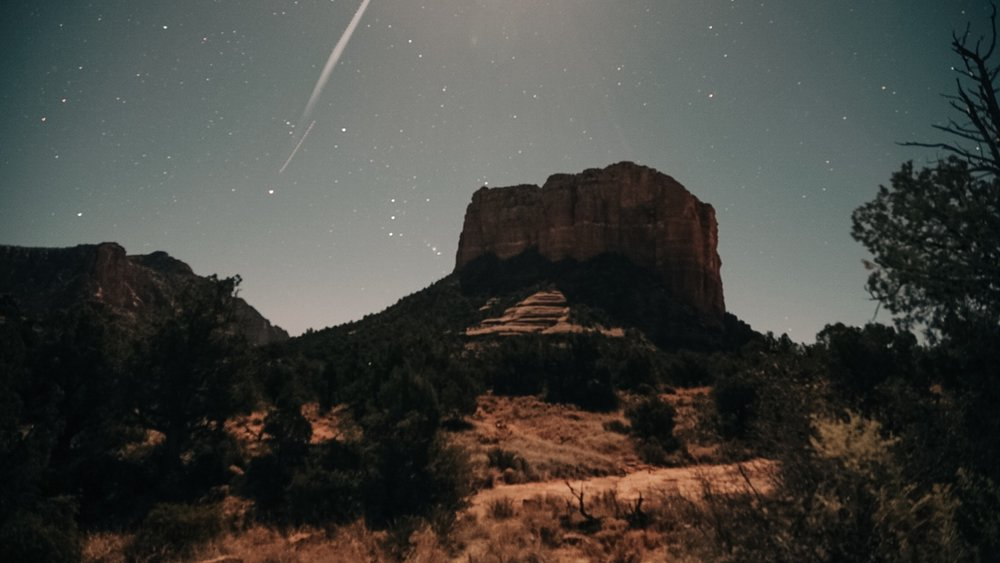Sedona's starry night | Edward Arthur Dalton