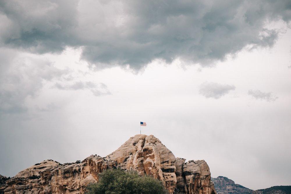 Memorial Day Flag | Edward Arthur Dalton