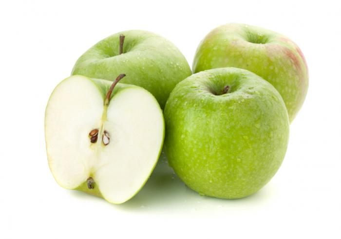 Granny smith applesORGANIC $1.99/lbConventional: $1.79/lb - Locally grown
