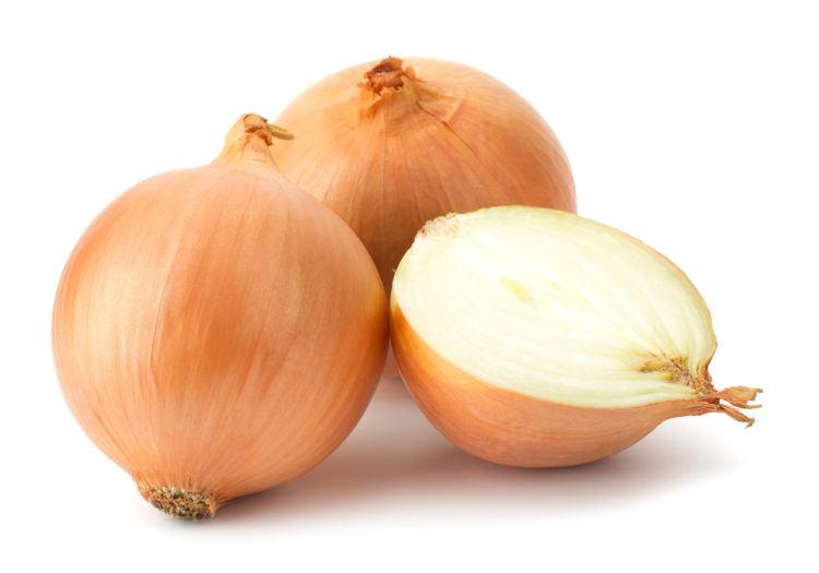 Yellow onions $0.69/lb -