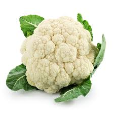 organic cauliflower $2.39 ea -
