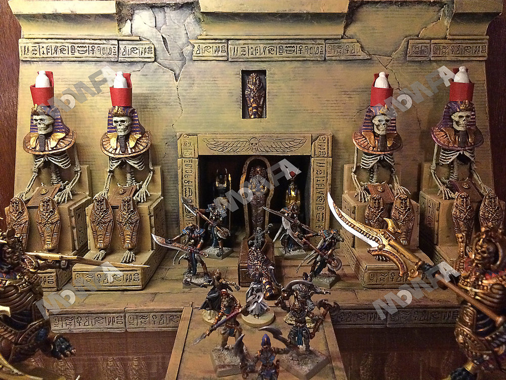miniature samurai wars tomb kings troy