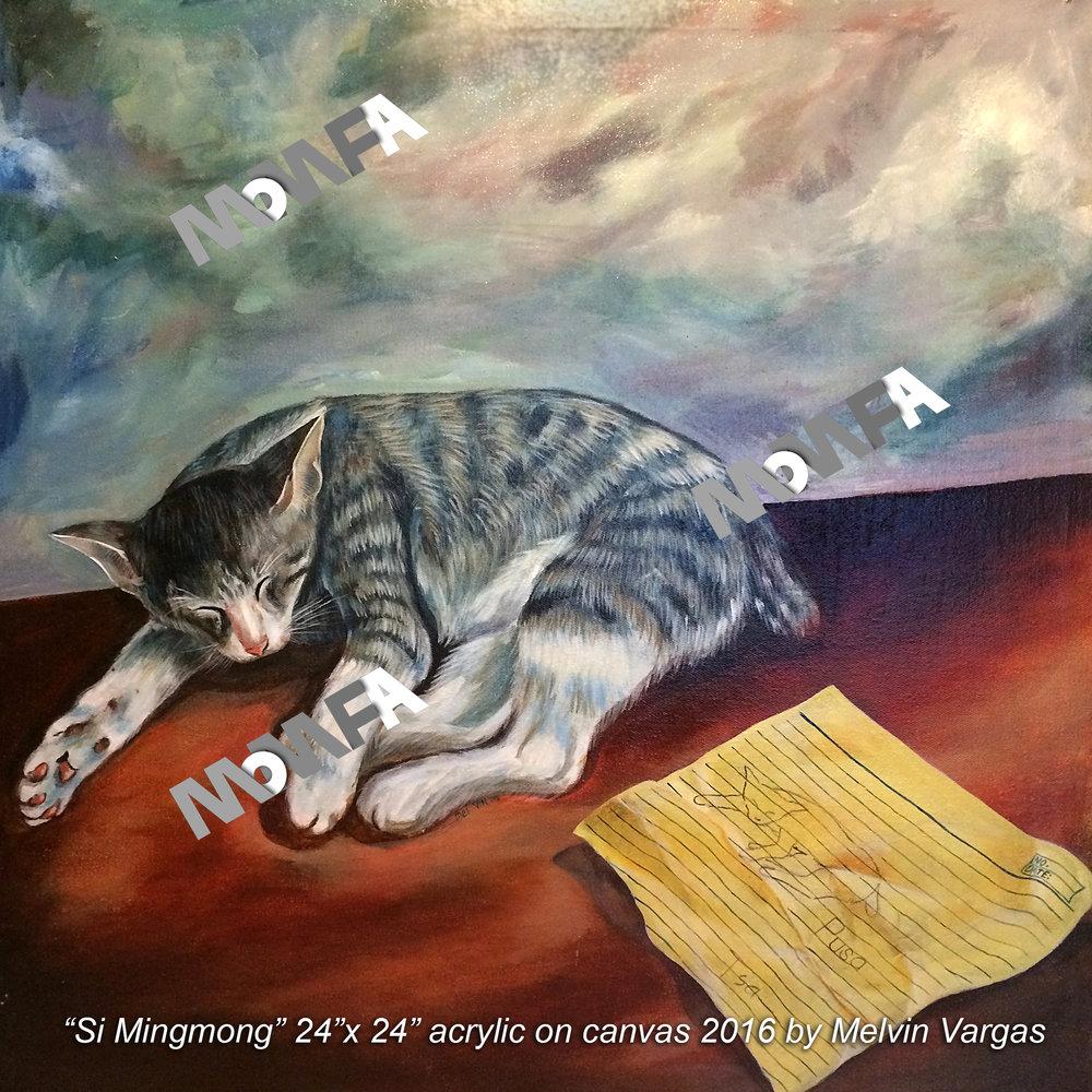 Si Mingmong 24x24 2016 Melvin Vargas wm.jpg
