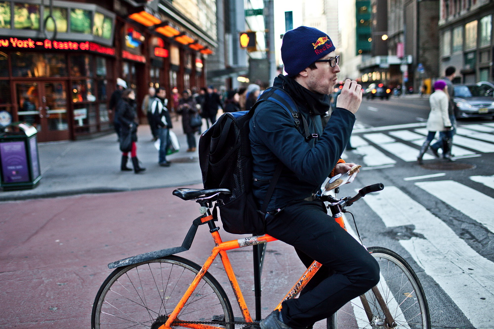 Want To Be A Bike Messenger 5 Tips Eco Courier Kw