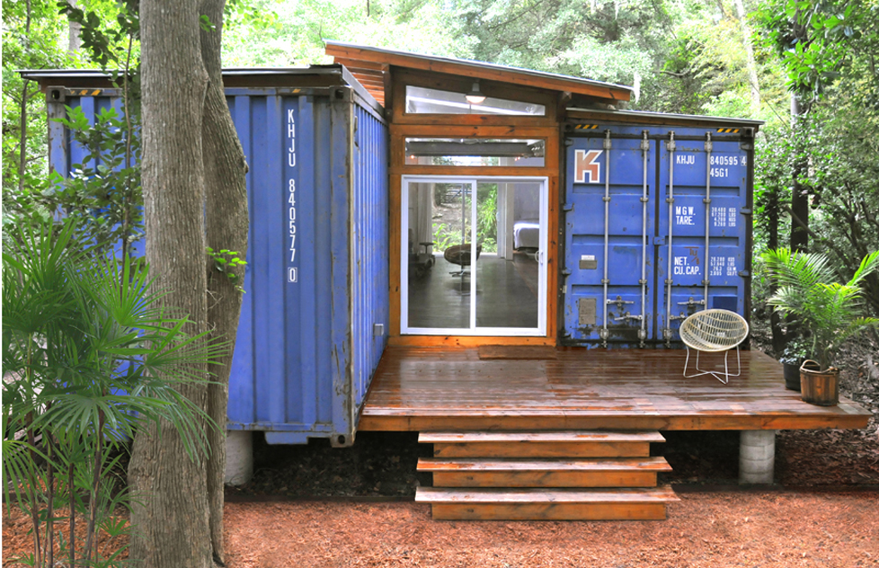 125k will get you a cool shipping container home