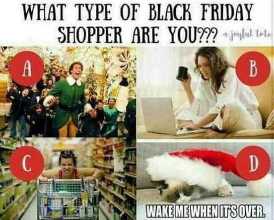 Black Friday Craziness What Type Of Shopper Are You Eco Courier Kw