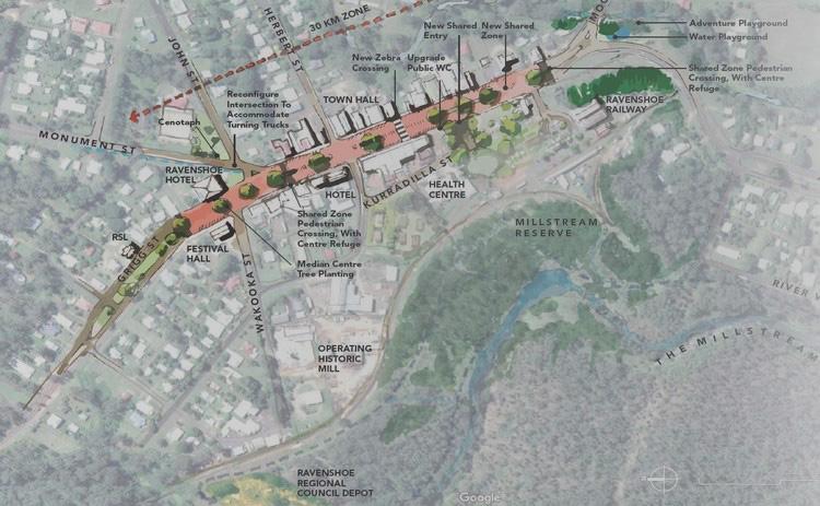 Ravenshoe Town Centre   Master plan