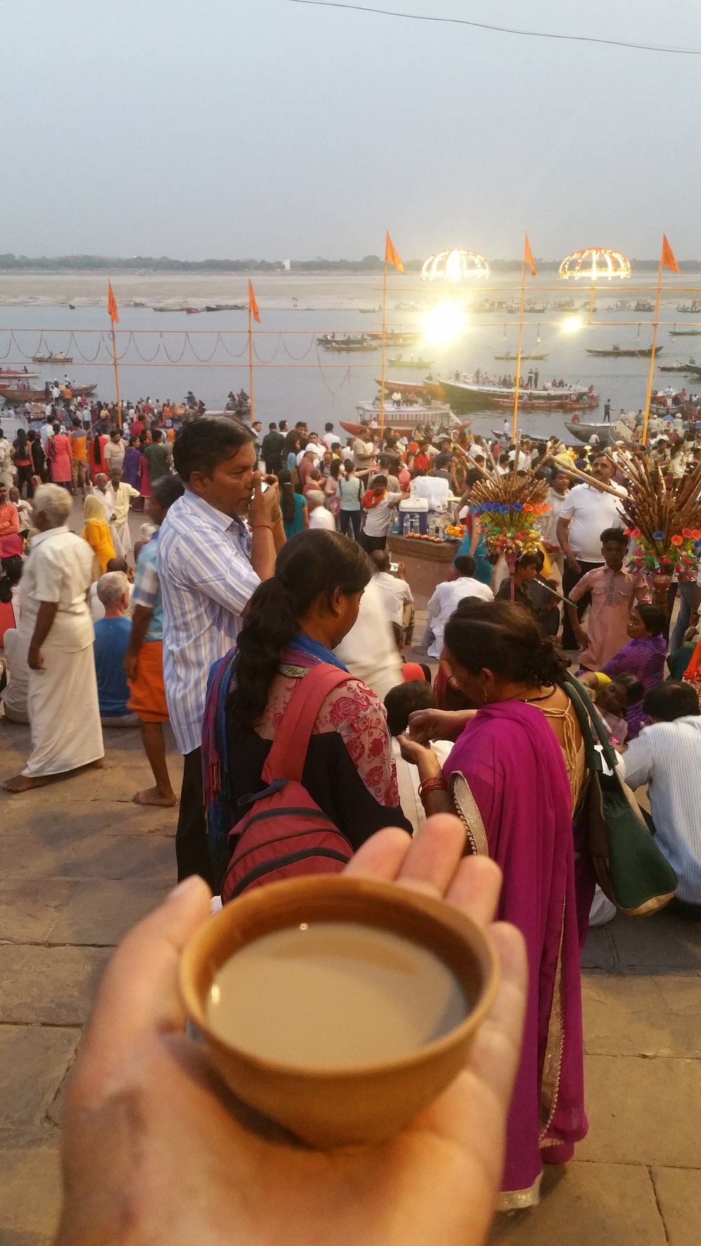 chai by the ghats remains my favorite