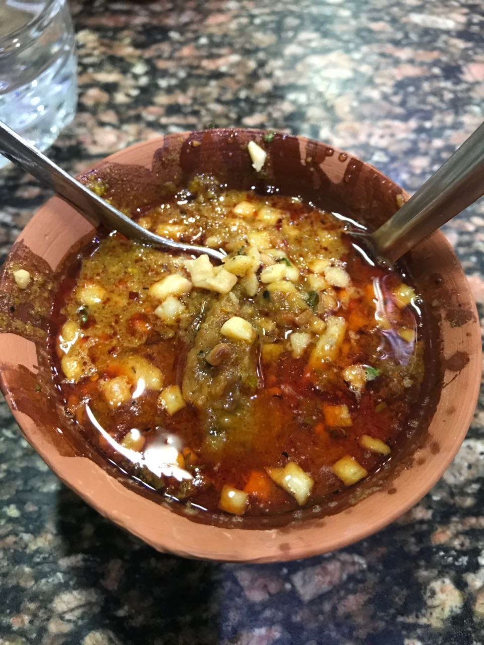 the famous tamatar chaat
