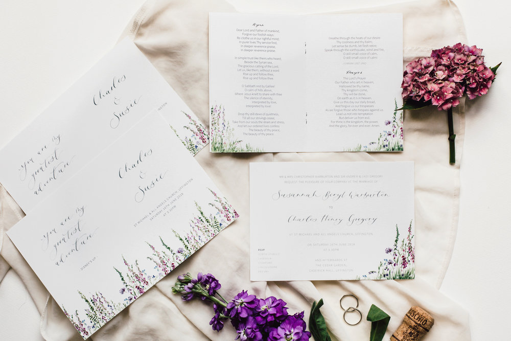 Wedding Stationery Orange Pippin