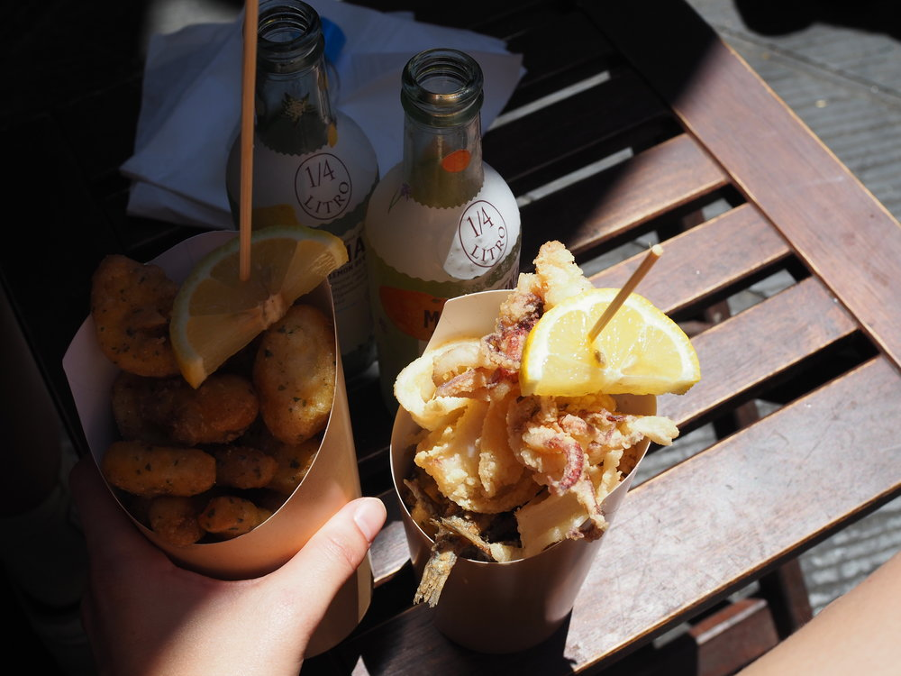 Fish & Chips in Manarola