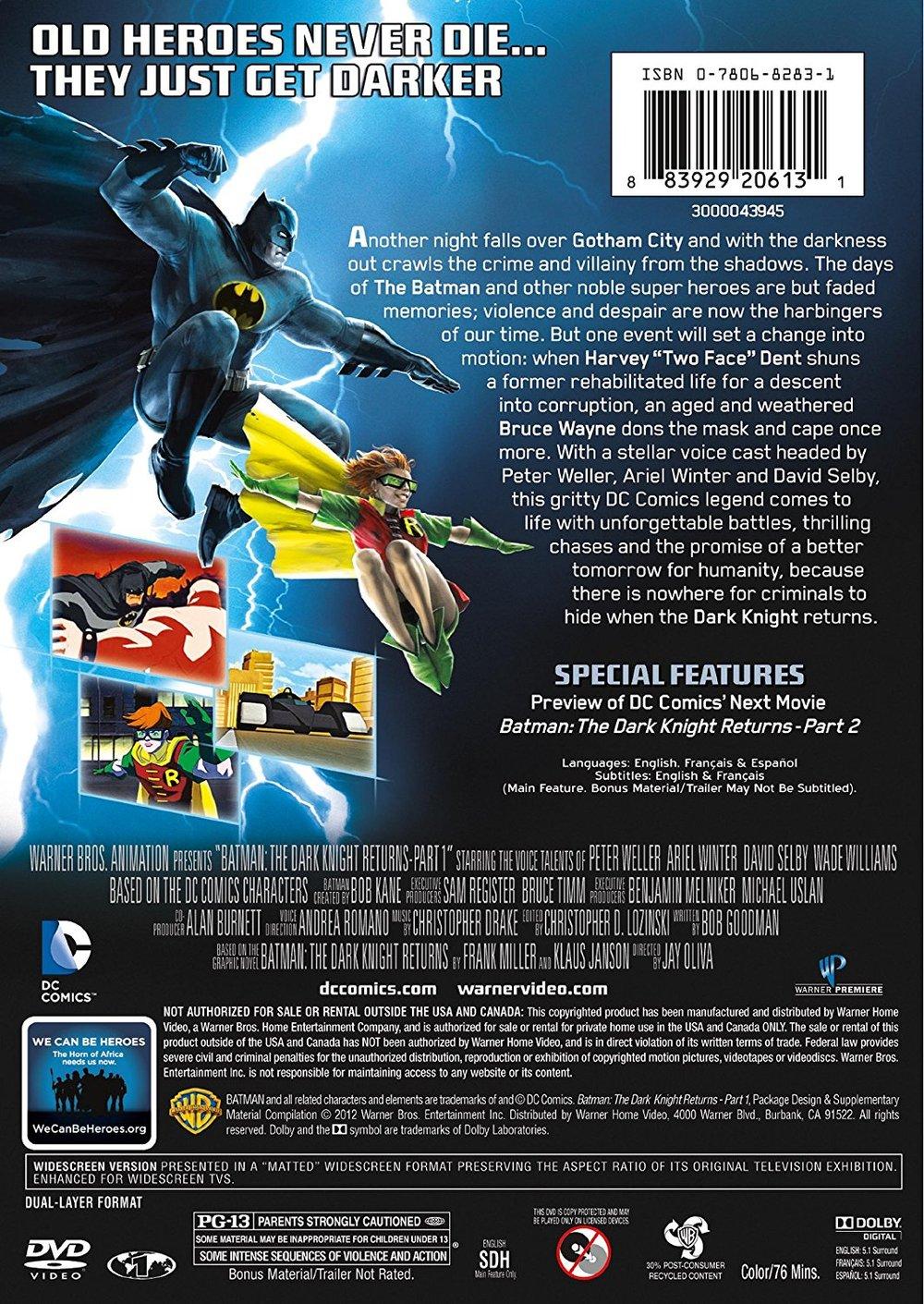 Back of DVD Slipcase