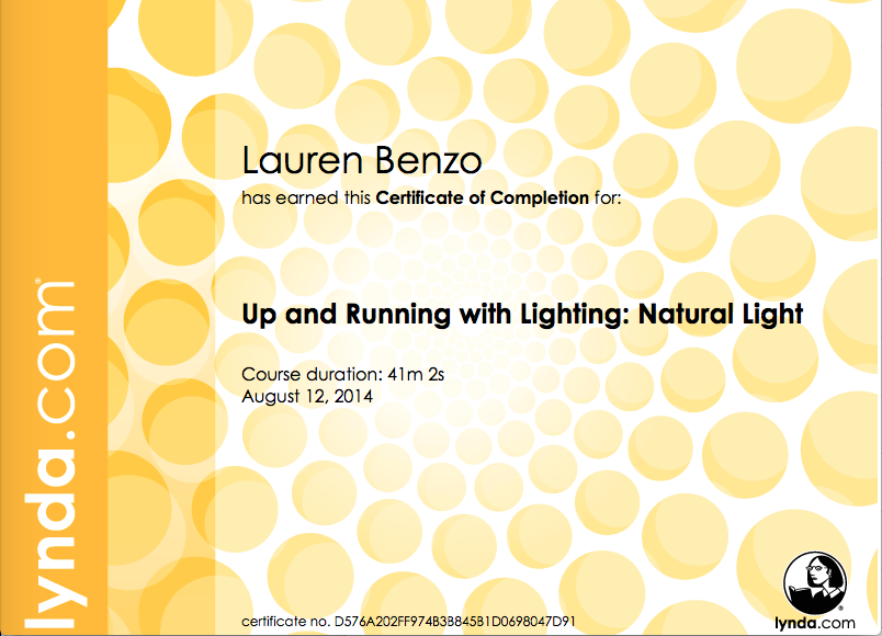 Up and Running with Lighting- Natural Light- August 2014.png