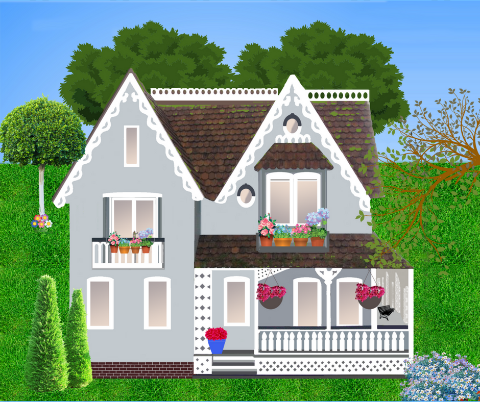 illustration of a home