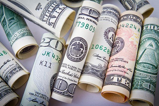 rolls of US dollars